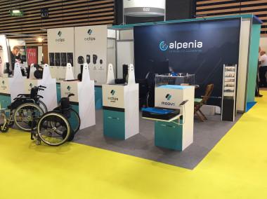 Présentation de la Gamme Alpenia en avant première lors du Salon HANDICA à Lyon