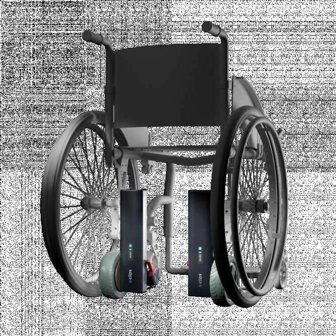 Motorisations pour fauteuils roulants E-clips Duo