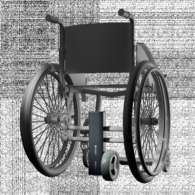 Motorisations pour fauteuils roulants E-clips Mono