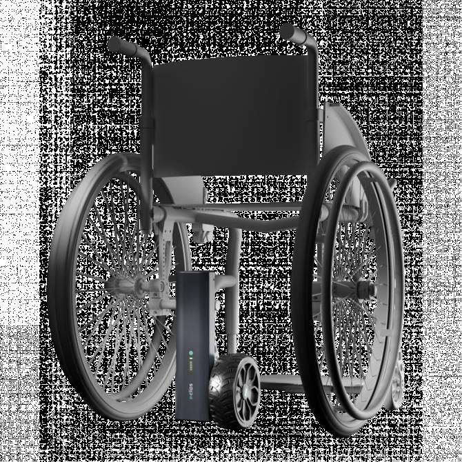 Motorisations pour fauteuils roulants E-clips Hémi