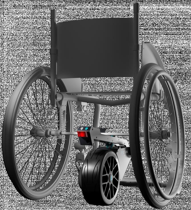 Motorisations pour fauteuils roulants E-clips Go
