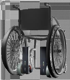 Motorisations pour fauteuils roulants